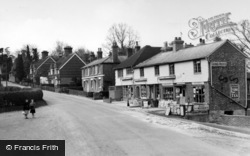 Ashurst Wood, The Stores c.1955