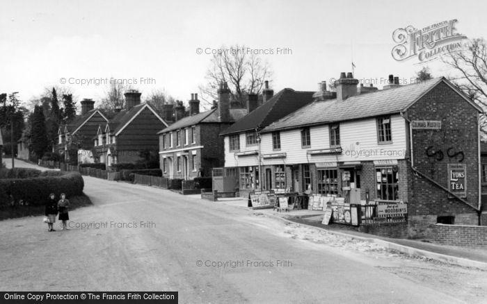 Photo of Ashurst Wood, The Stores c.1960