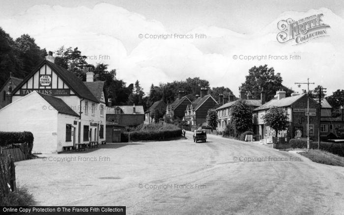 Photo of Ashurst Wood, The Village c.1955