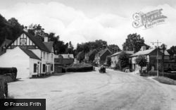 Ashurst Wood, The Village c.1955