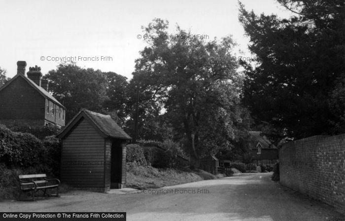 Photo of Ashurst Wood, Wall Hill Road c.1955