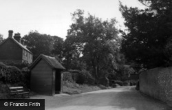Ashurst Wood, Wall Hill Road c.1955