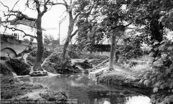 Ashwell, Ashwell Springs c.1955