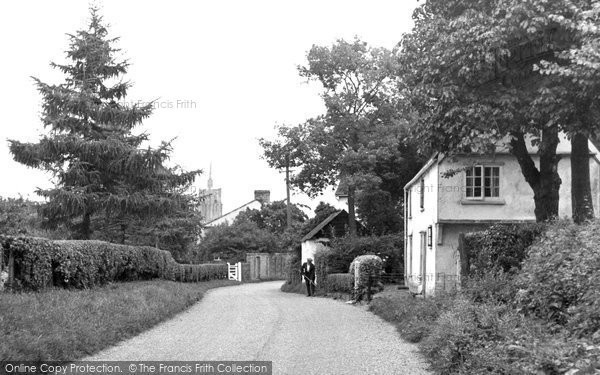 Photo of Ashwell, Back Street c.1951