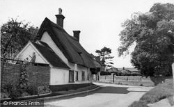 Ashwell, Chantry House c.1955