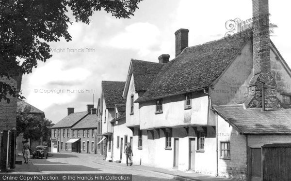 Photo of Ashwell, Forester's Cottages, High Street 1951