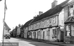 Ashwell, High Street 1951