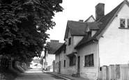 Ashwell, Mill Street 1951