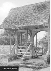 Ashwell, St Mary's Church Lychgate c.1950