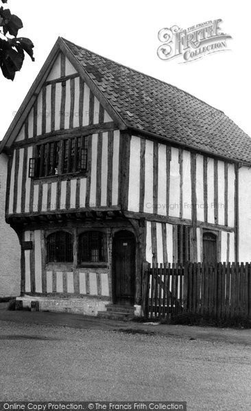 Photo of Ashwell, The Museum c.1951