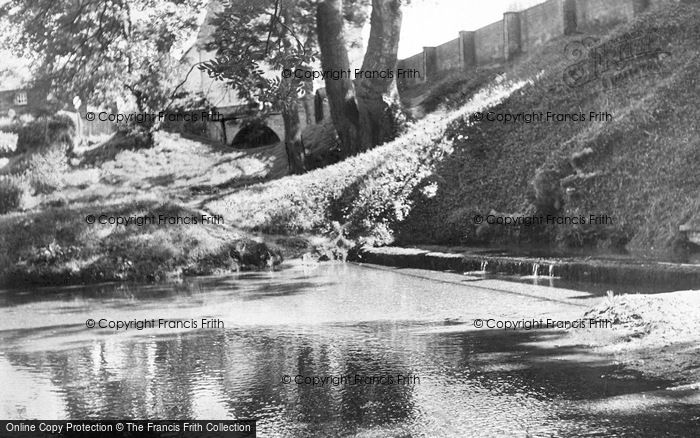 Photo of Ashwell, The Springs c.1955