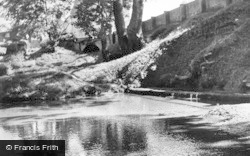 Ashwell, The Springs c.1955