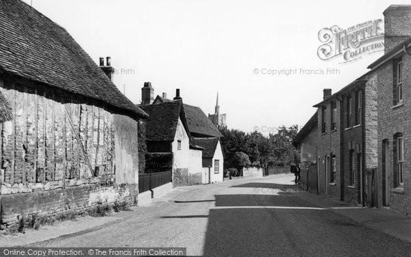 Photo of Ashwell, Village c.1955