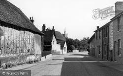 Ashwell, Village c.1955