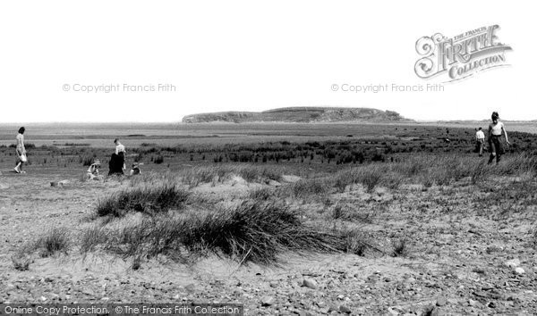 Photo of Askam In Furness, Dunnerholme Rock c.1955