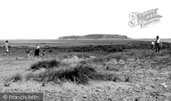 Askam In Furness, Dunnerholme Rock c.1955