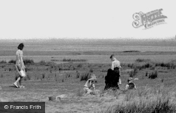 The Beach c.1955, Askam In Furness