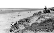 Askam In Furness, The Shore c.1955