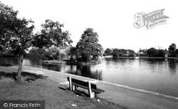 Askern, The Lake c.1955