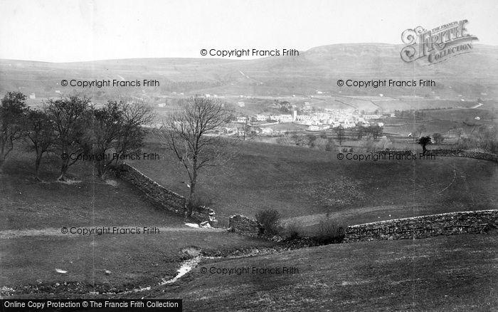 Photo of Askrigg, 1889