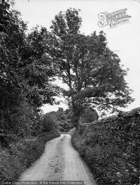Askrigg, Betts Bits Lane 1924
