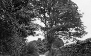 Askrigg, Betts Bits Lane 1924