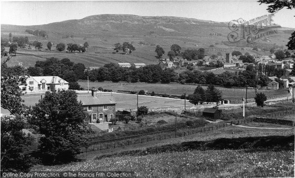 Photo of Askrigg, From Abbey Head c.1960