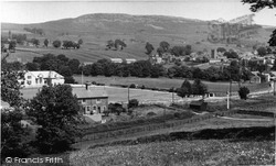 Askrigg, From Abbey Head c.1960