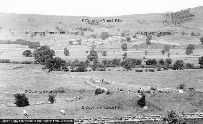 Photo of Askrigg, From The South c.1955