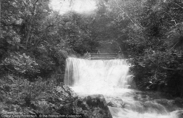 Photo of Askrigg, Lower Whitfield Gill Foss 1887