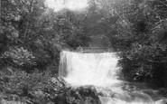 Askrigg, Lower Whitfield Gill Foss 1887