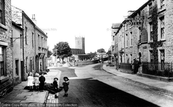 Photo of Askrigg, Main Street 1914