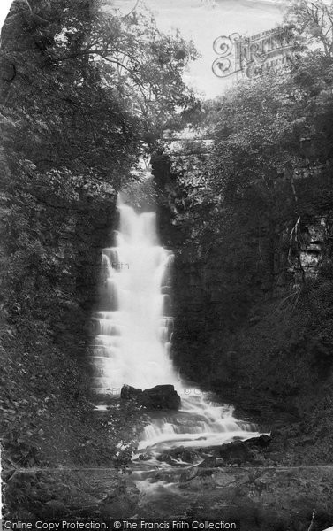 Photo of Askrigg, Mill Gill Foss 1887