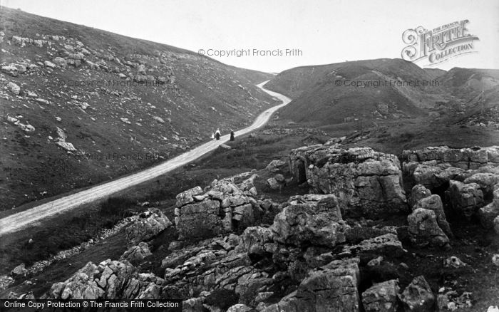 Photo of Askrigg, Muker Pass 1914