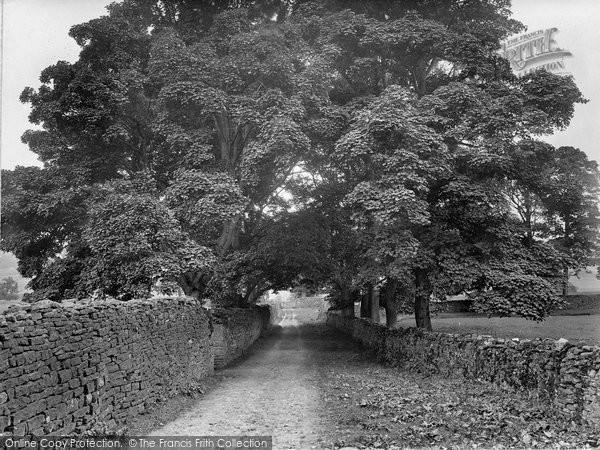 Photo of Askrigg, Nappa Hall Avenue 1924