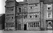 Askrigg, Old Hall 1929