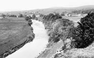 Askrigg, River Ure 1924