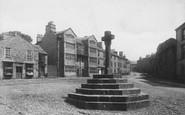 Askrigg, Street And Market Cross 1896