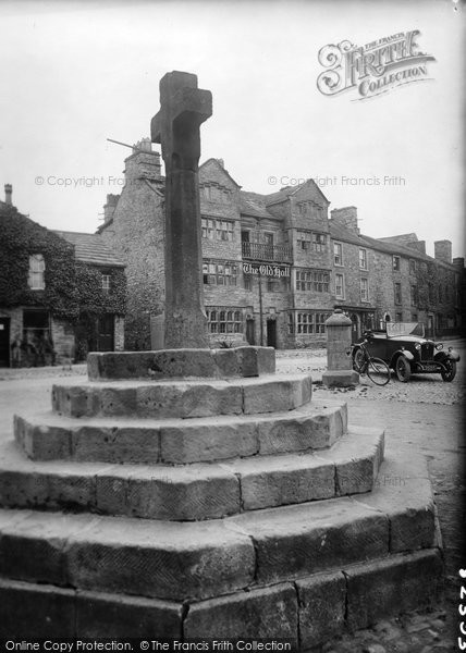 Photo of Askrigg, The Cross 1929