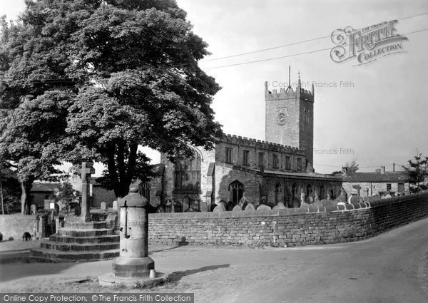 Photo of Askrigg, The Parish Church c.1950
