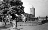 Askrigg, The Parish Church c.1950