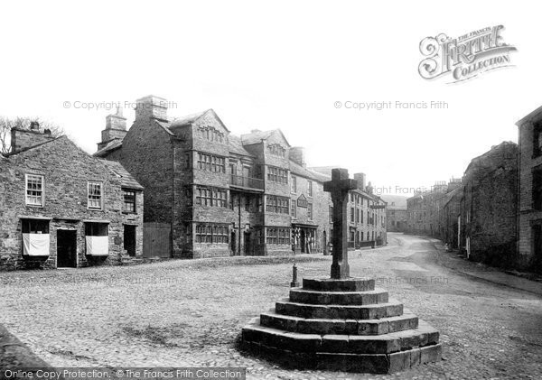 Photo of Askrigg, The Street 1887