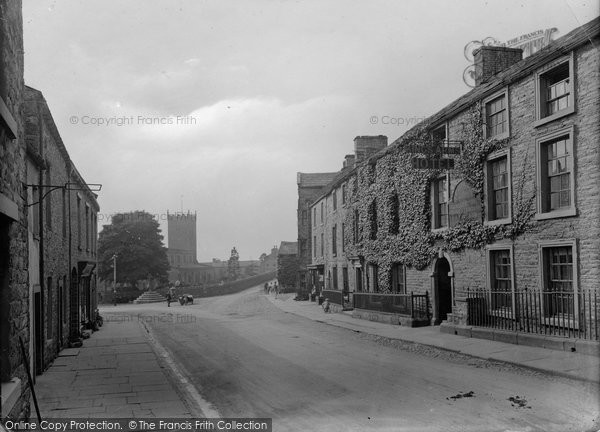 Photo of Askrigg, The Village 1929