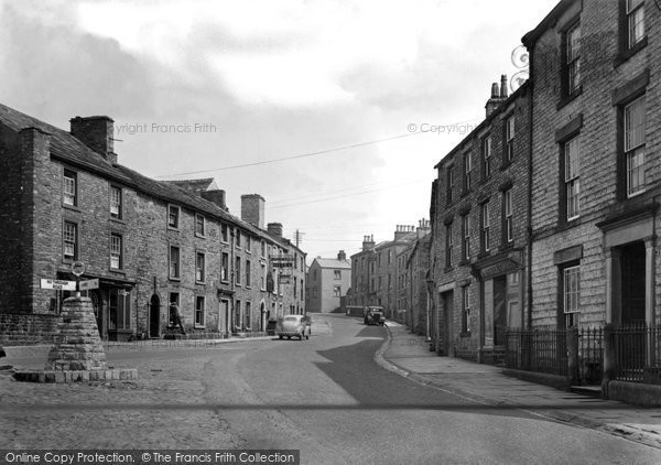 Photo of Askrigg, The Village c.1950