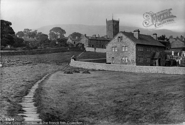 Photo of Askrigg, Vicarage 1914