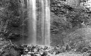 Askrigg, Whitfield Upper Fall 1896