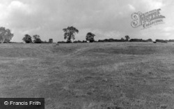 Site Of The Castle 1953, Aslackby
