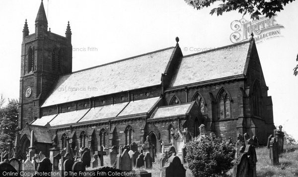 Aspatria, the Church c1955.  (Neg. A295009)  © Copyright The Francis Frith Collection 2008. http://www.francisfrith.com