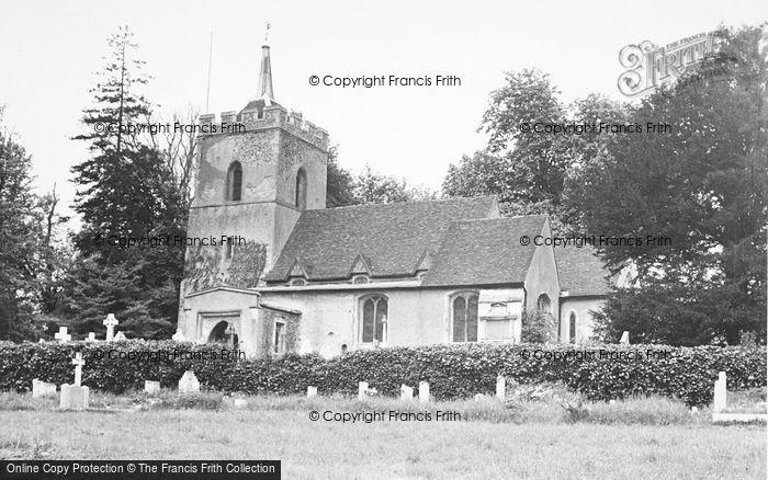 Photo of Aspenden, Church c.1955