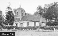 Aspenden, Church c.1955